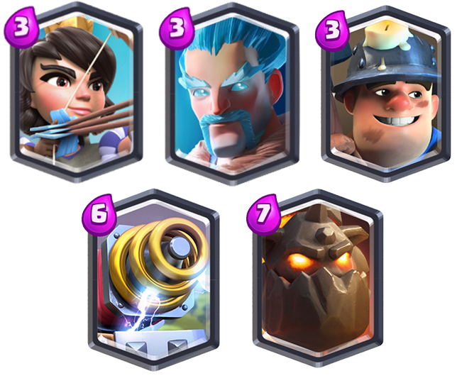 legendarische kaarten clash royale